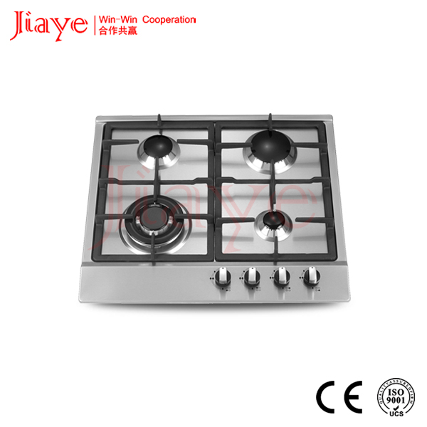 4 rings cast iron gas burner gas stove/gas hob /gas cooker made in China JY-S4031