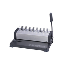 2188 T Handleiding plastic <span class=keywords><strong>binding</strong></span> kam ring/strips bindmachine