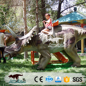 OAC0012 Playground entertainment equipment theme park ride dinosaur