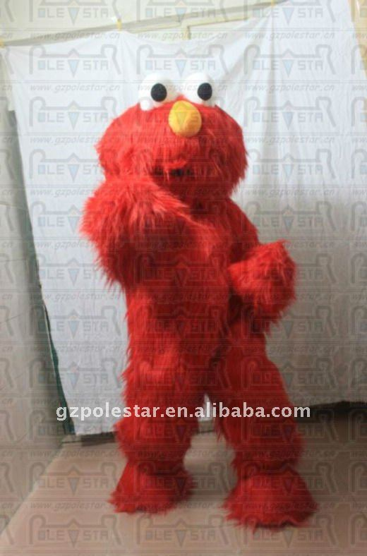 NO.2170 red monster elmo mascot costumes