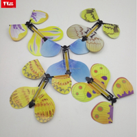 Colorful Artificial Flying Paper Butterfly magic flying butterfly toys