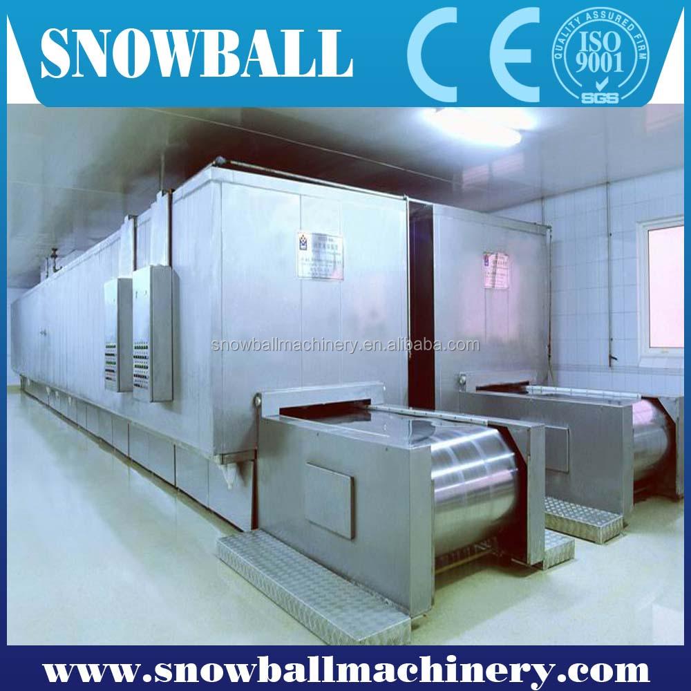 ce zugelassene industrielle gefrierger te iqf gefriermaschine tunnel gefrier eismaschine. Black Bedroom Furniture Sets. Home Design Ideas