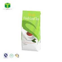 Square Bottom custom printed Paper tea bags