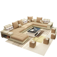 Hot Selling Modern Double Home Deck Crystal Furniture Sofa Set