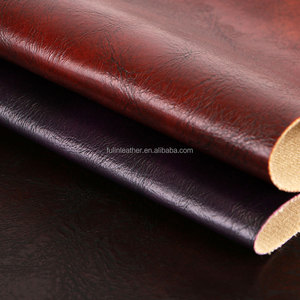 vintage artificial semi-PU leather for sofas, chairs and industrial furnitures