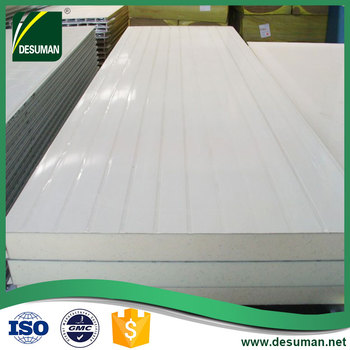 DESUMAN swimming pool precast lightweight used polyurethane sip insulated wall panels for sale