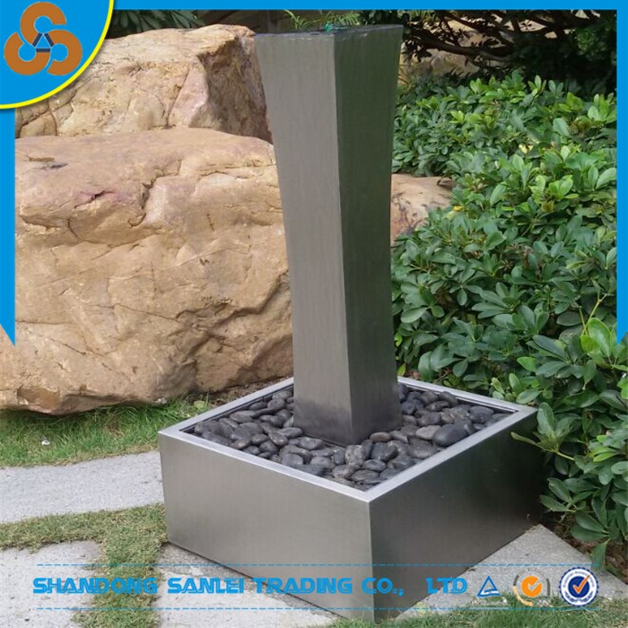 stainless Steel Fountain Suppliers, stainless steel water feature