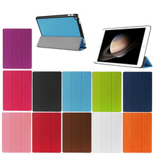 Brand New China Wholesale 3 Folding Flip Stand Leather Case for iPad Pro