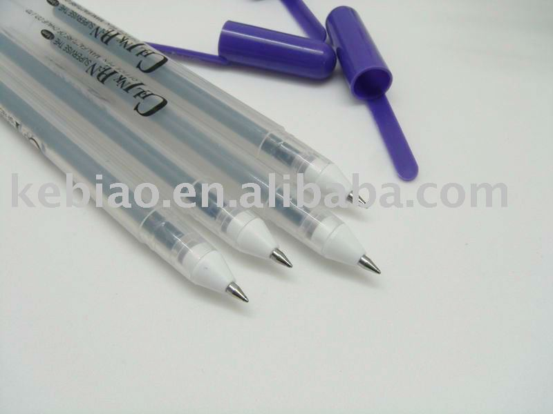 Environmental Protection Ink Plastic Gel Pen