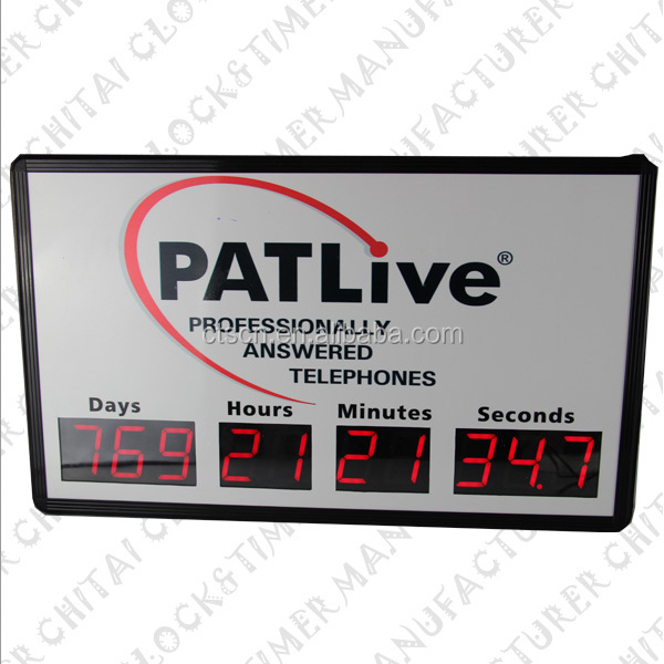 2014 new product led countdown with hour min, sec and tenths of seconds timer