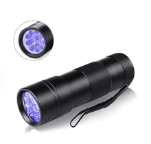 Ultravilot Urine Light 12 Led UV Blacklight Flashlight Detector for dogs Pet Stain Detector