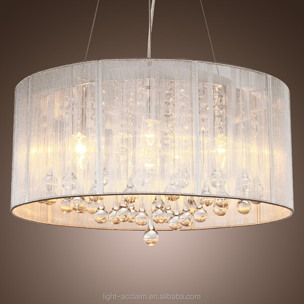 Hotel Lobby Crystal Ceiling Light Pendant Lamp Luxury Chandelier ...