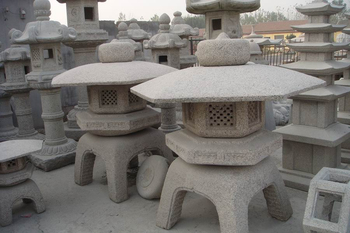 Natural granite hand carved japanese style garden stone lantern natural granite hand carved japanese style garden stone lantern workwithnaturefo