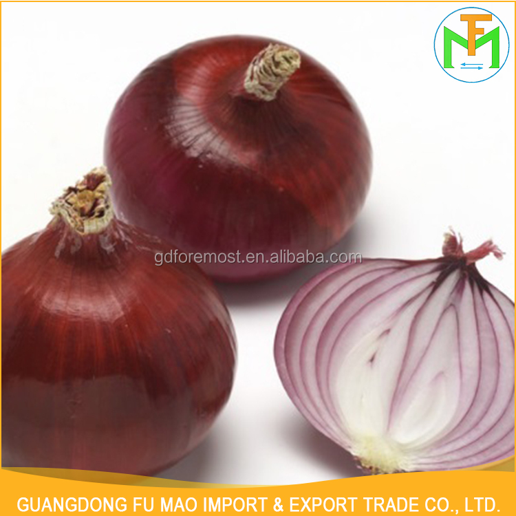 Wholesale Price Sahndong Big Size 7.5Cm New Crop Organic Fresh Red Onion