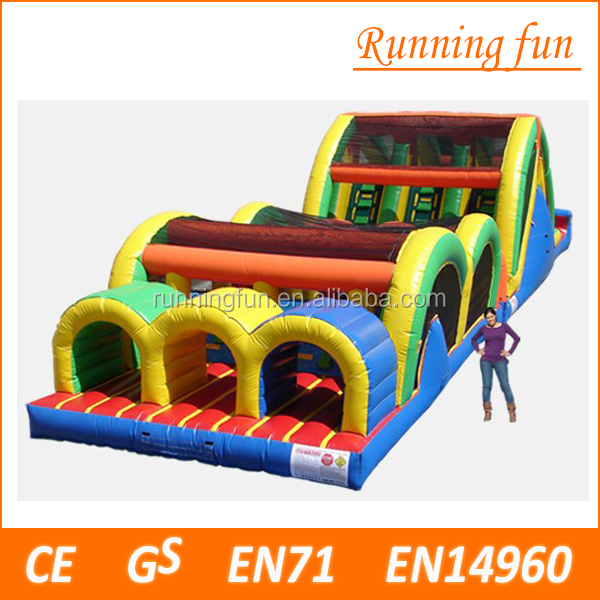 Outdoor toys baby obstacle courses, inflatable games for adults for sale