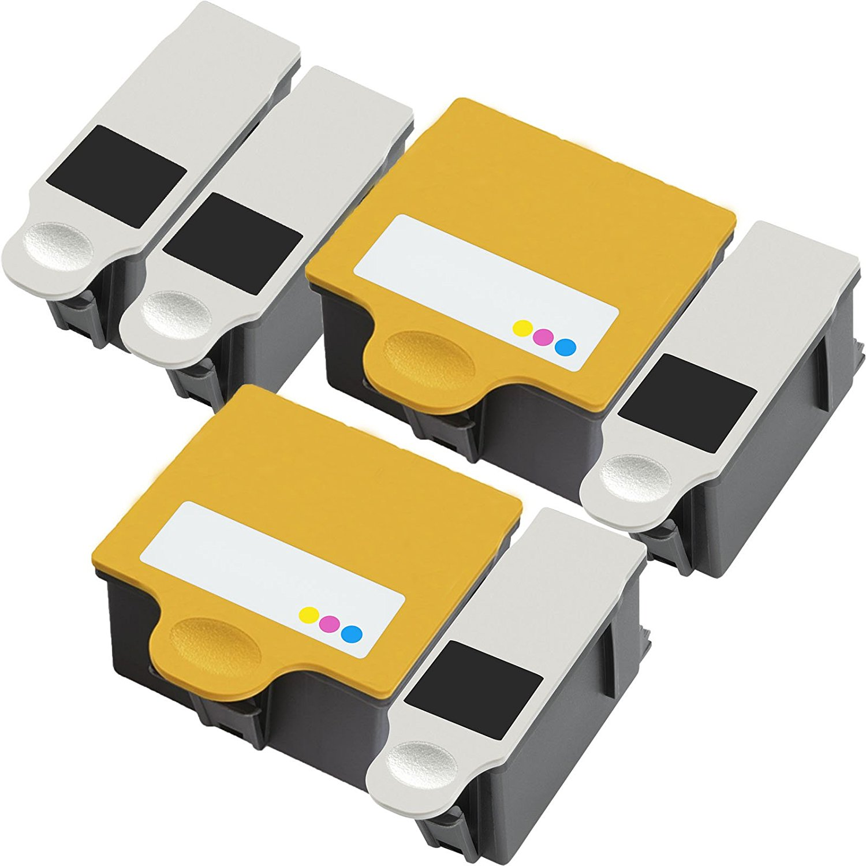 Inktoneram Compatible Ink Cartridge Replacement for Kodak 10XL 10 10C HERO 7.1 9.1 OFFICE HERO 6.1 5100 5300 5500 ESP 3 5 7 9 3250 5210 5250 7250 9250 ESP Office 6150 ([4-Black, 2-Color], 6-Pack)