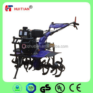 New Design HT105F 6hp Modern Agricultural Rotary Tiller Equipments