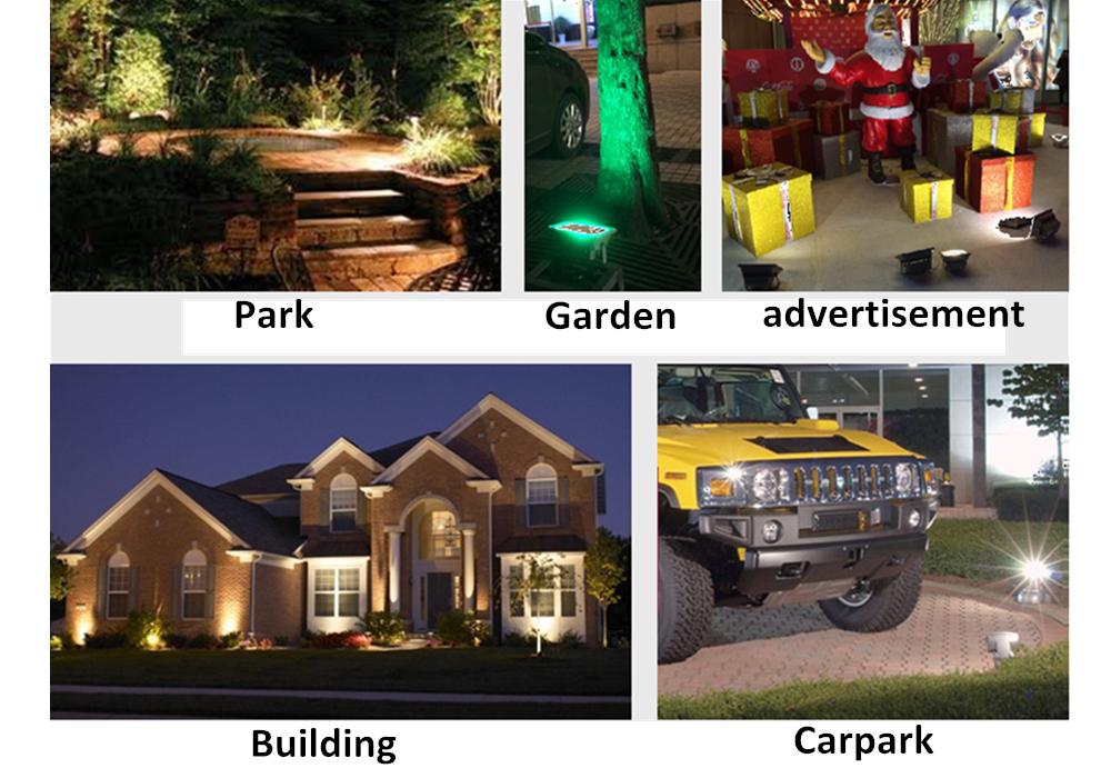 12v Outdoor Ip65 Glass Lens 36w Low Voltage Landscape Lighting ...