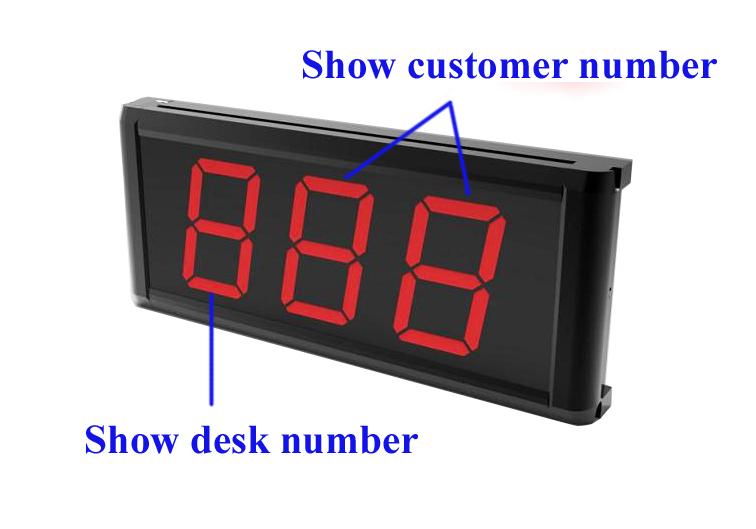 Factory Direct Supply Restaurant Apparatuur Met Call En Annuleren 2 Toetsen Kelner-oproepsysteem Met Menu Houder (1 Display + 10 knop)