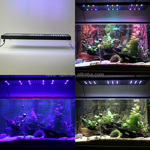hot sale LED full spectrum aquarium marine lights 200w 36inch for coral reef SPS LPS