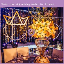 KA313 wedding popular fashionable table top metal candelabra centerpiece for sale used