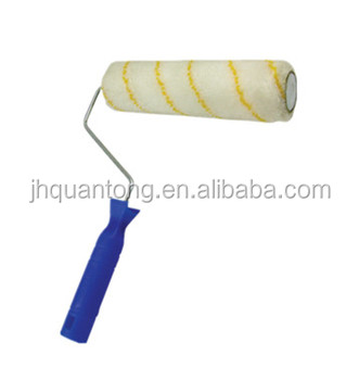 Qt-417 Oem Solid High Quality Nap Roller Painting Brush