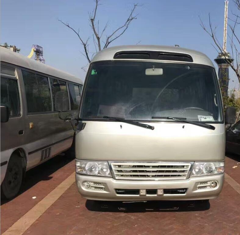 coaster bus 30 seats diesel engine used coaster bus for sale