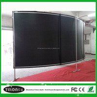 Good price cinema 3d curved screen 180 degrees of China National Standard