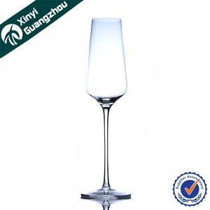 Wholesale Popular cocktails drinking crystal champagne goblet glass made in china