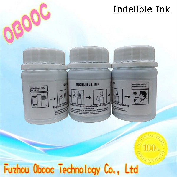 2017 100ml Bottle Indelible Ink for Election with Election Pen/Ballot Box