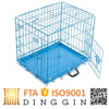 Blue steel pet display cage