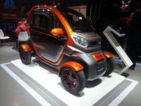 new energy automobile cheap small EEC electric car made in China with high quality