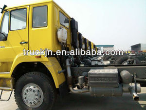 white 6*4 336HP howo tractor truck for asia market----ZZ4257M3241V