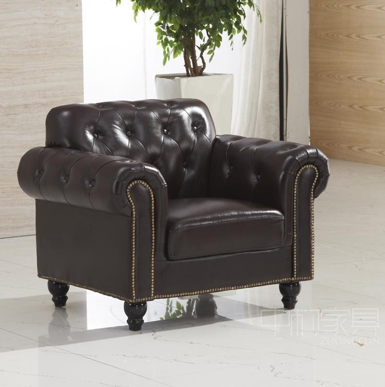 Leather Furniture Company: Foshan Furniture Italy Leather Sofa Factory Chesterfield