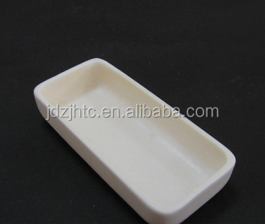 High Temperature Resistance Alumina Ceramic Boat Crucible