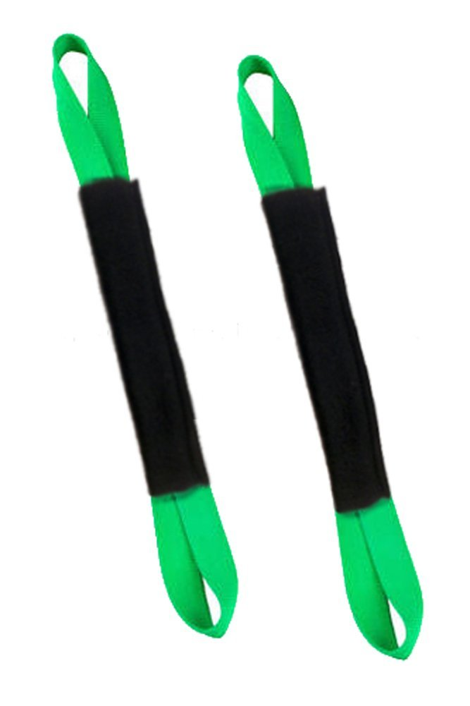 "Ancra Tiedowns 18"" Tie Down Extension w/ Fleece - Neon Green"