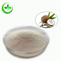 100% organic and dried coconut milk extract powder