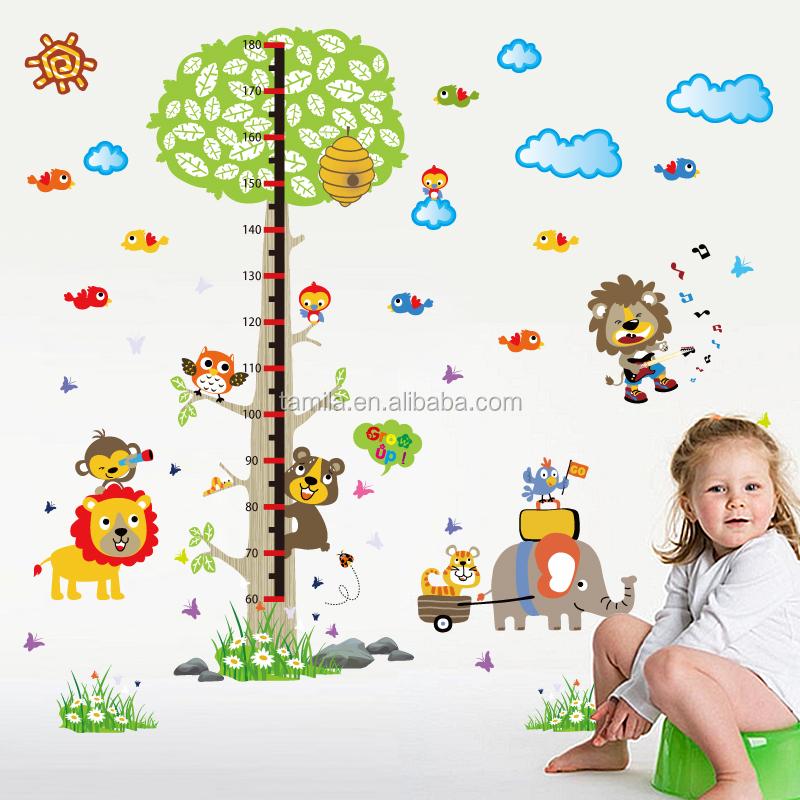 Criancas Da Selva Dos Desenhos Animados Animais Da Floresta Arvore