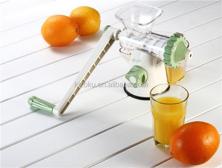 Small Plastic Manual Carrot Juicer Machine Buy Carrot