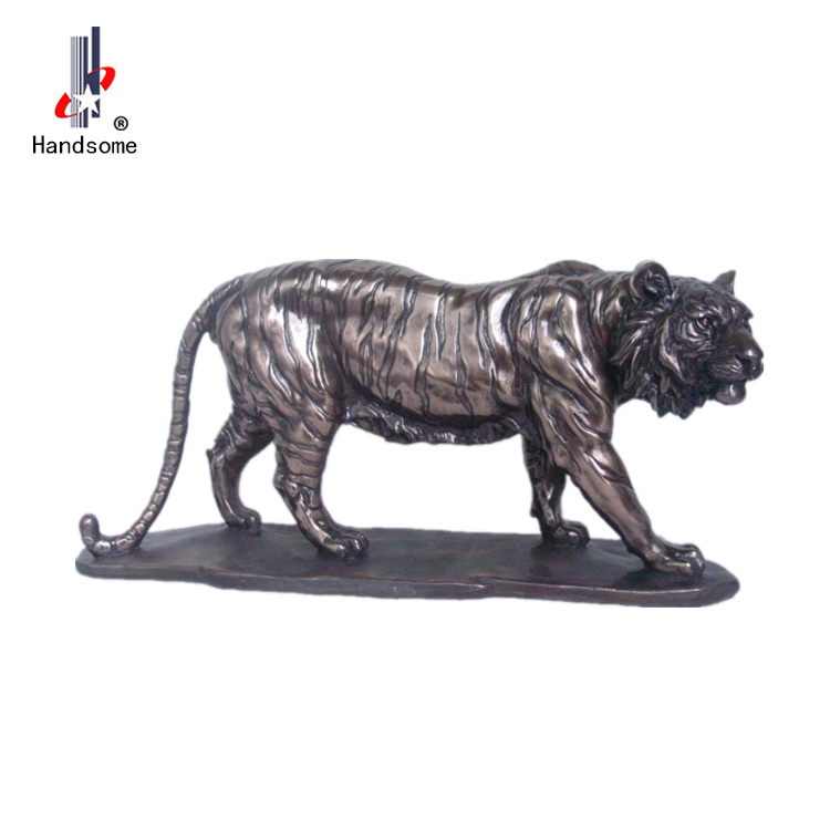 14 Inch Polyresin Animal Souvenirs Garden Ornaments Tiger Figurine
