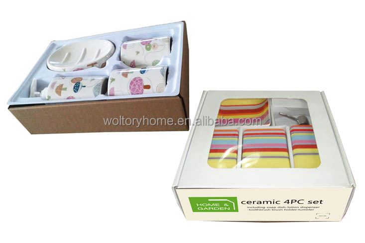 Bathroom Accessories Packaging china supplier resin bathroom accessories,wholesale polyresin