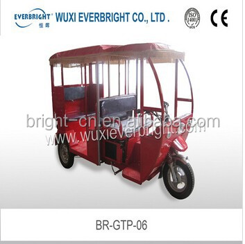 heavy loading capacity tricycle for passenger loading