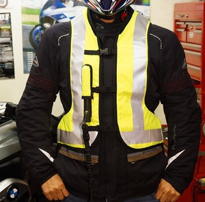 motorcycle reflective safety airbag vest high quality