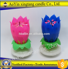 China Flower Music Candle Wholesale