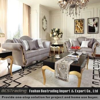 Luxury european style classic fabric sofa set foshan for Classic sofa malaysia