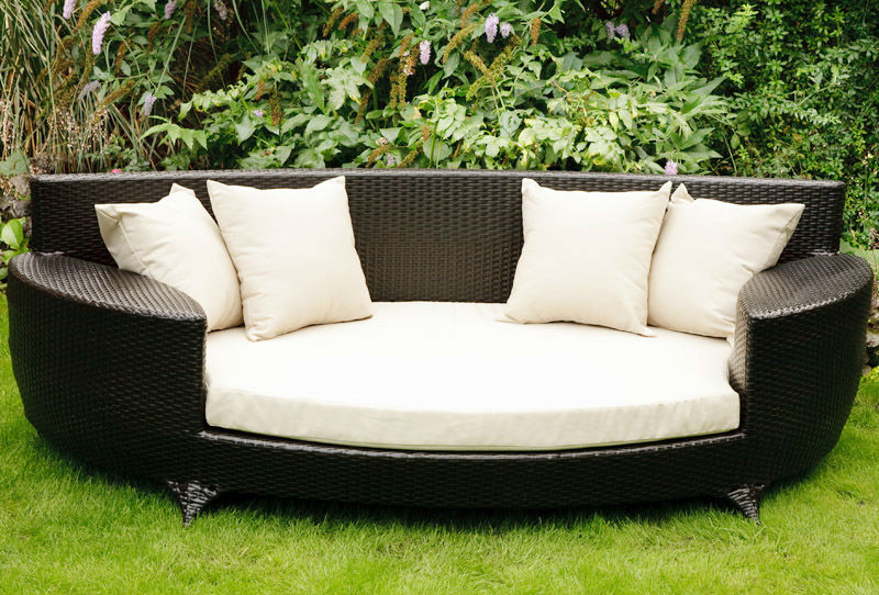 Rattan Daybed Suppliers : Resin wicker outdoor daybed sofa hereo