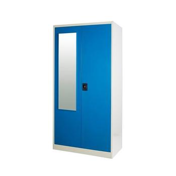 Metal Clothing Wardrobe Cabinet/painted Armoire Wardrobe 3 Door Steel  Wardrobe Cabinet Storage Wardrobe Locker