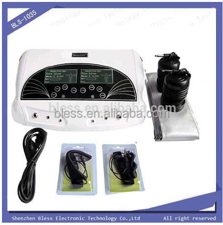 Bless-1035 family dual people use ion detox foot soak machine