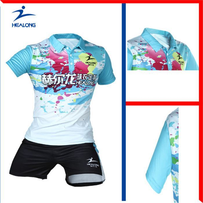 Healong Sportswear Sublimation Printing Dry Fit Table