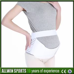 high-quality soft comfort maternity support belt belly band 5~8 months pregnancy yellow